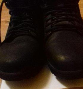 Ботинки Зимние Замша