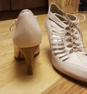 Туфли новые кожаные
