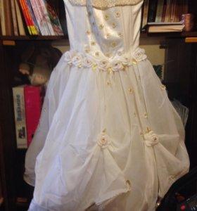 Шикарное платье на выпускной