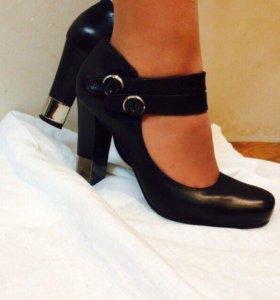Туфли женские  Туфли натуральная кожа