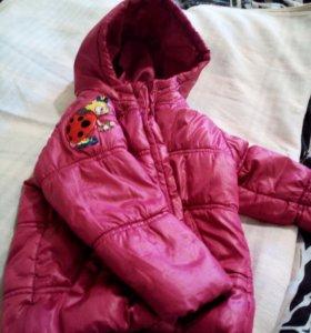 Теплая курточка , осень,весна.