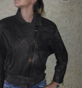 Куртка,натуральная кожа.
