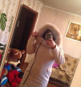 Зимнее пальто (внутри стёганное)