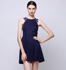 Новое синее платье!