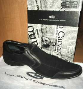 Туфли кожа/замш
