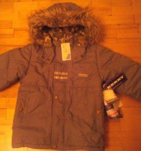 Зимняя куртка kerry, размер 110