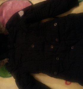 Пальто зимнее для девочки (mexx)