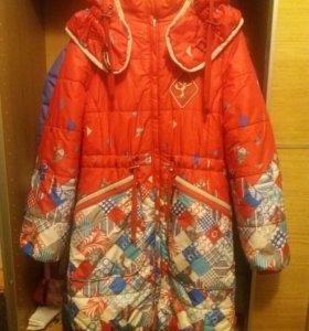 Пальто для девочки зимнее Orby.