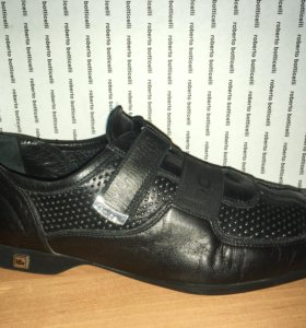 Туфли кожаные Roberto Botticelli