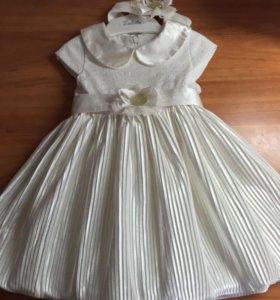Платье праздничное р-р74