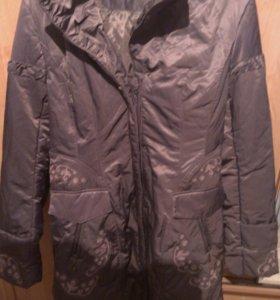 Пальто осеннее на синтепоне
