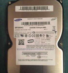 Жёсткий диск Samsung SP2004C 200Gb ПК
