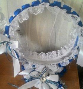 Свадебная корзиночка