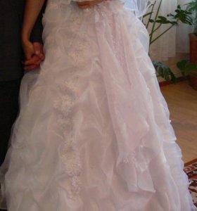 Платье свадебное и фата