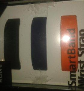 Комплект из трех ремешков для браслета Sony SmartB