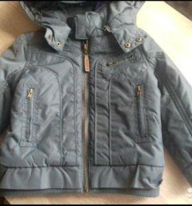 Продам новую фирменную куртку Gulliver 98раз