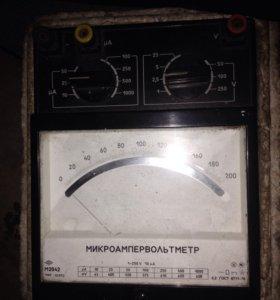 Вольтамперметр и Микроампервольтметр
