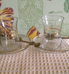 Нов стаканы чайн(Турция) за 2шт