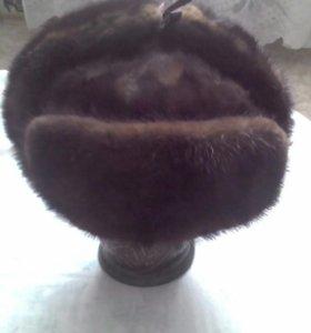 Норковая шапка - ушанка