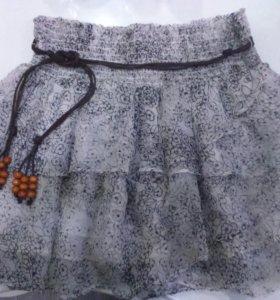 Брендовая новая юбка + подарок 🎁