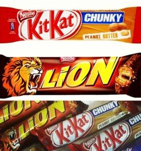 Батончик Lion, Kit-kat