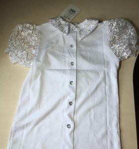Блузка новая на рост 140