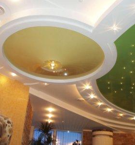 Натяжные потолки арт 117