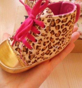 Домашняя обувь для малышки
