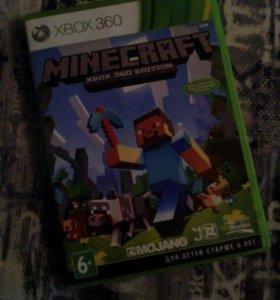 Minecraft Для XBox360 оригинал