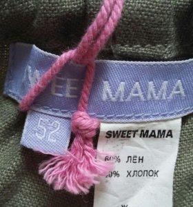 Брюки укороченные для беременных SWEET MAMA