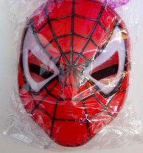 Маска Человек паук светящийся