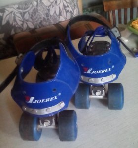 Ролики раздвижные 4х-колесные