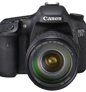 Фотоаппарат Canon 7d body