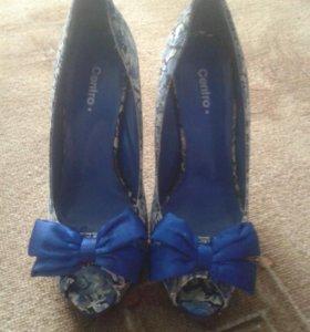 Винтажные туфли на шпильке