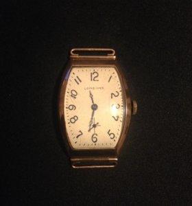 Часы золотые Longines 1913 год
