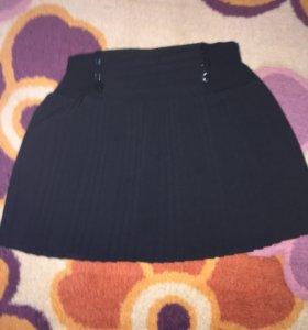 Школьная юбка для девочки 6-7 лет