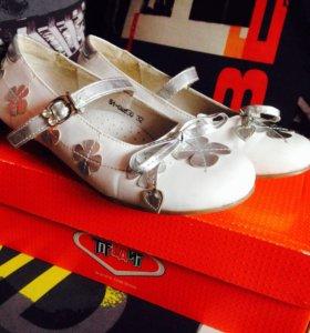 Туфли для девочек+подарок(с профиля до 100)