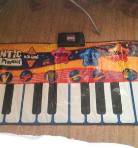 Игровой коврик пианино