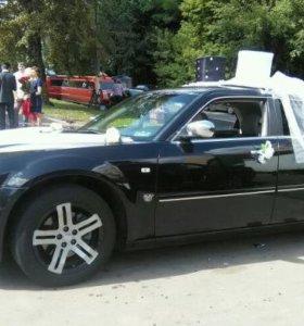 Аренда (прокат) авто с водителем Chrysler 300C
