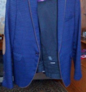 Пиджак+ джинсы