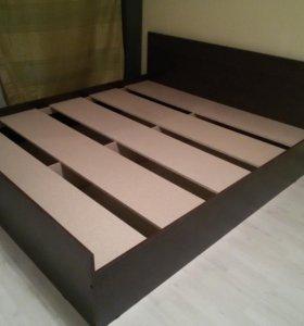 Новая крепкая кровать 160*200
