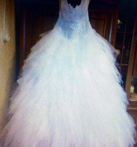 Свадебное платье размер 42-48 , ц 3 т.р.