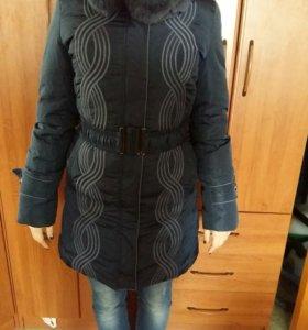 Куртка зима  новая р.42-44