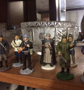 Солдатики металические коллекционные