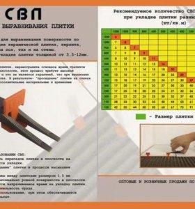Система выравнивания плитки(Свп)