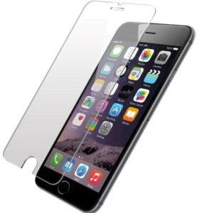 Защитные стекла на iPhone 4, 5, 6, 6+, 7, 7+