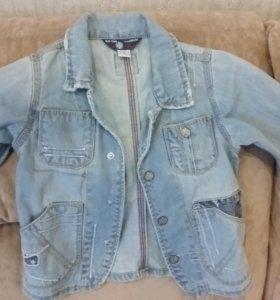 Куртка-пиджак джинсовая
