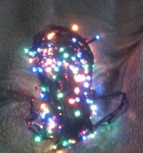 Гирлянда 300 лампочек
