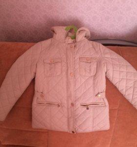 Курточка для девочки 128 р