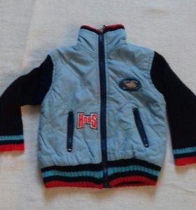 Куртка на мальчика 2-3 года,весна -осень,.